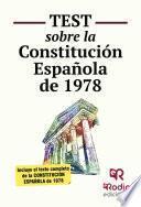 Test sobre la Constitución Española