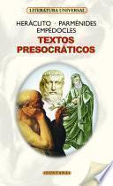 Textos presocráticos