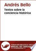 Textos sobre la conciencia histórica