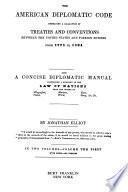 The American Diplomatic Code