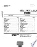 The Army Family-- a Partnership