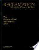 The Colorado River Documents, 2008