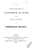 The emigrantś vade-mecum