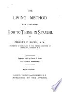 The Living Method for Learning how to Think in Spanish