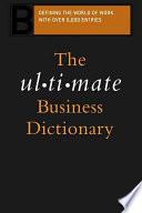 The Ultimate Business Dictionary