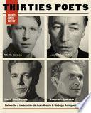 Thirties Poets (Louis MacNeice, W. H. Auden, Cecil Day-Lewis, Stephen)