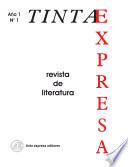 Tinta Expresa 1. Revista de Literatura