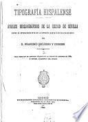Tipografía hispalense