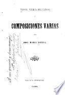 Tipos veracruzanos y composiciones varias