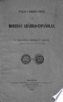 Títulos y nombres propios en las monedas arábigo-españolas