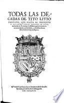 Todas las decadas de Titus Livius