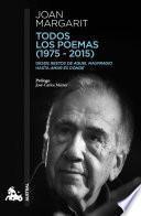Todos los poemas (1975-2015)