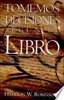Tomemos decisiones según el libro