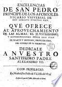 Tomo (primero-) octauo de la obras del ... senor don Iuan de Palafox y Mendoza, obispo de Osma