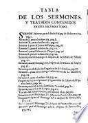 Tomo segundo de las obras y sermones que predicò y dexò escritos ... San Luis Bertran de la sagrada Orden de Predicadores