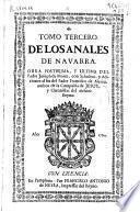 Tomo tercero de los Anales de Navarra
