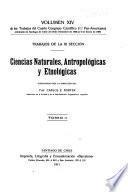 Trabajos del cuarto Congreso científico (1. ̊Pan-americano) celebrado en Santiago de Chile del 25 de diciembre de 1908 al 5 de enero de 1909 ...