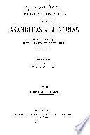 Trabajos legislavos de las primeras asambleas arjentinas desde la junta de 1811 hasta la disolucion del congreso en 1827: Enero-abril, 1826