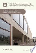Trabajos singulares y de remate en fachadas transventiladas. IEXD0409