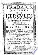 Trabajos y afanes de Hercules, floresta de sentencias y exemplos