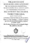 Traducción de los cuatro libros sapienciales de la Sagrada Escritura