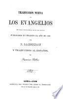 Traducción nueva de los Evangelios