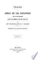 Trajes y armas de los españoles