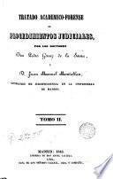 Tratado académico-forense de procedinentos judiciales, 2