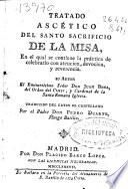 Tratado ascético del santo sacrificio de la Misa