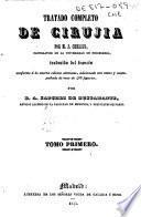 Tratado completo de cirujía