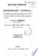 Tratado completo de enfermedades venéreas