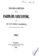 Tratado completo de la esgrima del sable español