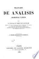 Tratado de análisis, gramatical y lógico