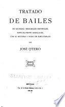 Tratado de bailes de sociedad, regionales españoles, especialmente andaluces