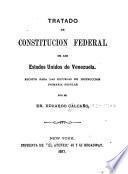 Tratado de constitución federal de los Estados Unidos de Venezuela