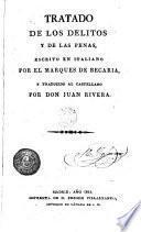 Tratado de de los detitos y de las penas