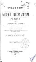 Tratado de derecho internacional publico