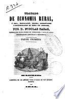 Tratado de economía rural o Cría, propagación, mejora, conservación y multiplicación de todos los animales