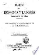 Tratado de economía y labores para uso de las niñas