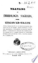 Tratado de embriología sagrada