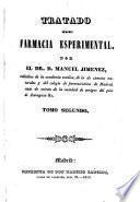 Tratado de farmacia esperimental