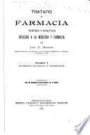 Tratado de farmacia teórico y práctico: Farmacia galénica ú operatoria