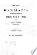 Tratado de farmacia teórico y práctico: Farmacia química