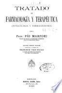 Tratado de farmacología y terapéutica