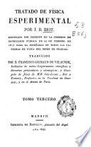 Tratado de física esperimental [sic]