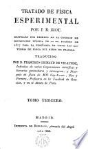 Tratado de Física experimental
