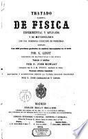Tratado de Física experimental y aplicada y de meteorología con una numerosa colección de problemas