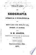 Tratado de geografía física i política del estado de Bolívar, destinado a la enseñanza