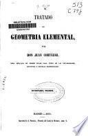 Tratado de geometría elemental