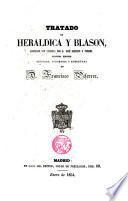 Tratado de heráldica y blasón, adornado con láminas